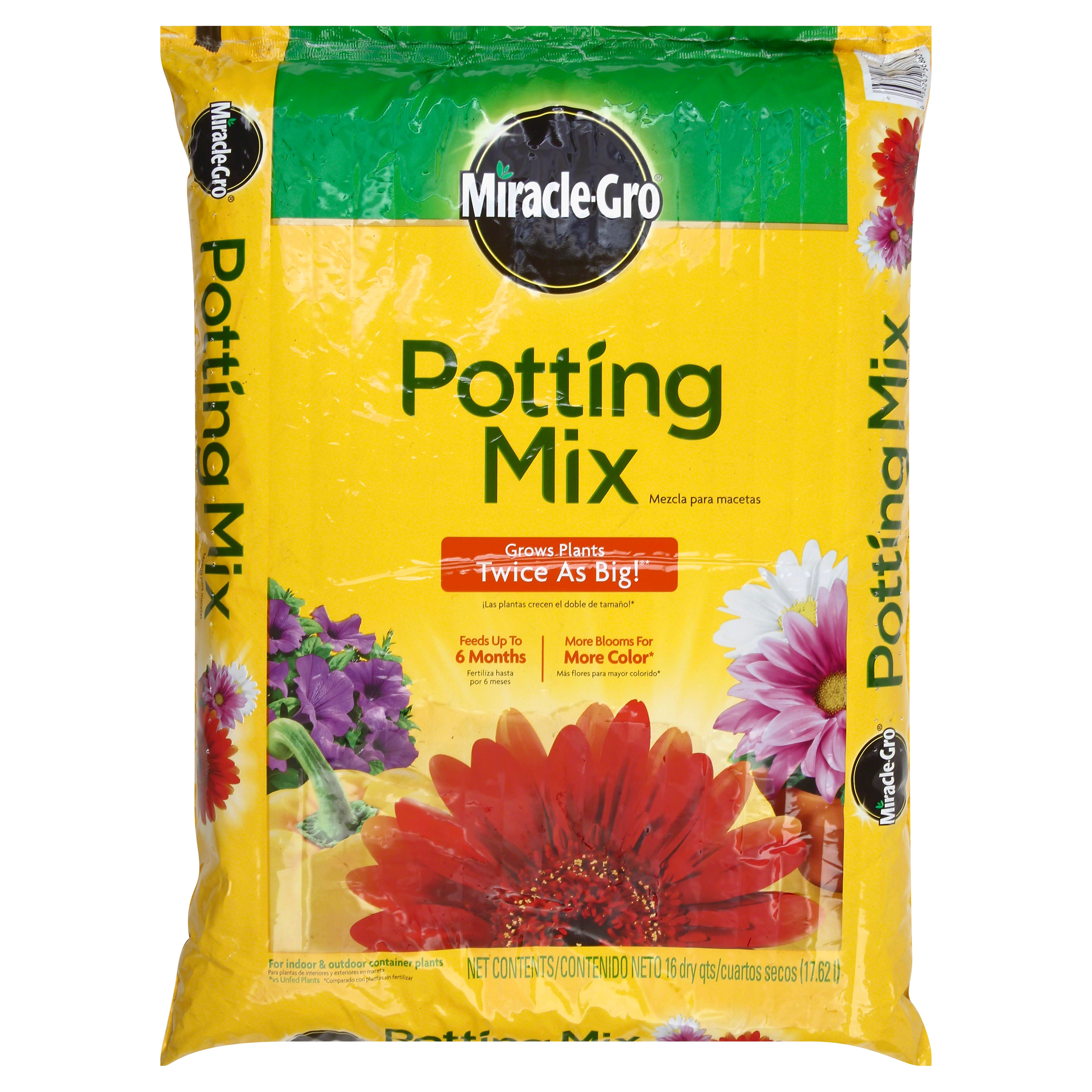 Scotts Lawn Care Miracle Gro Potting Mix