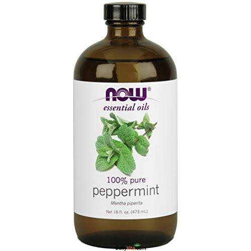 Now Foods Peppermint Essential Oil - 16oz