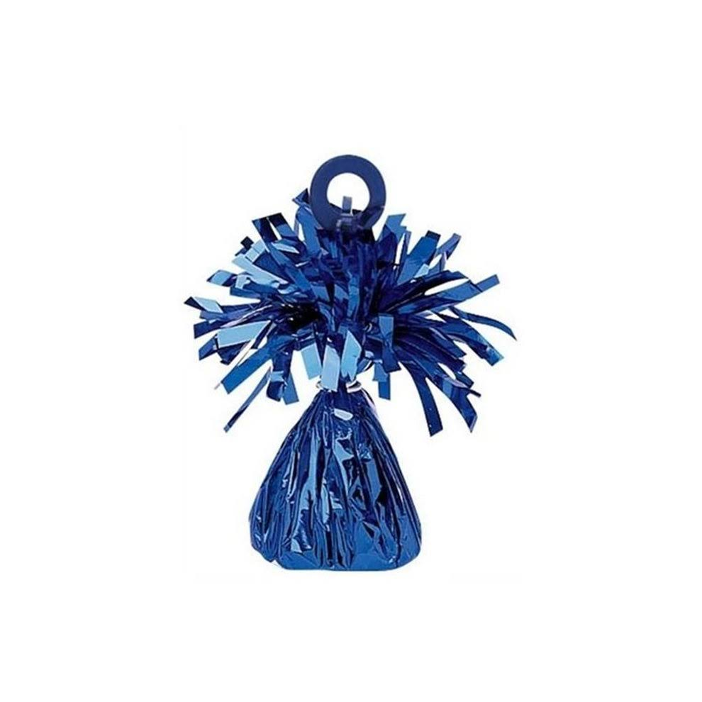 Amscan Decorative Foil Party Balloon Weight - Blue, 8oz