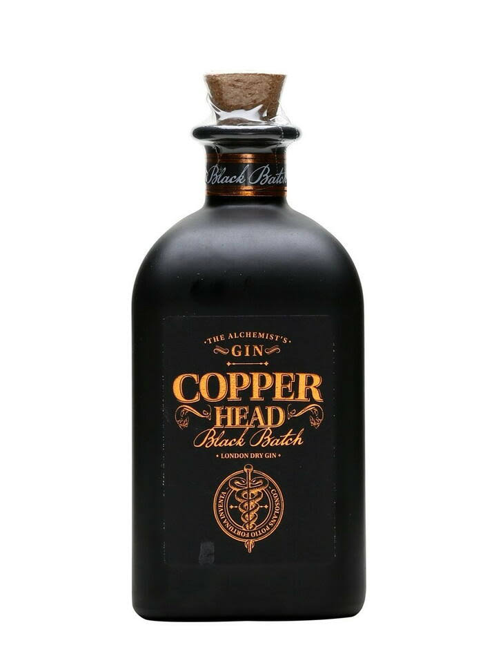 Copperhead Black Batch Gin 50cl
