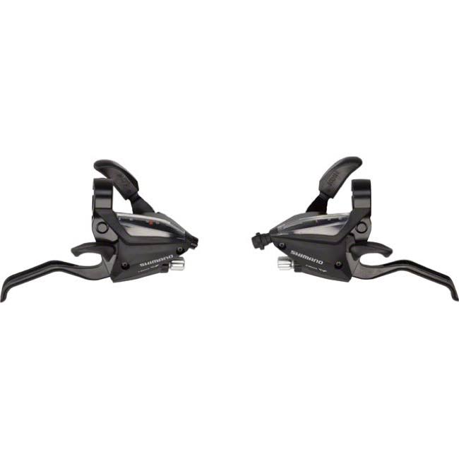 Shimano Ef500 Brake Shift Lever Set - Black, 3x8 Speed