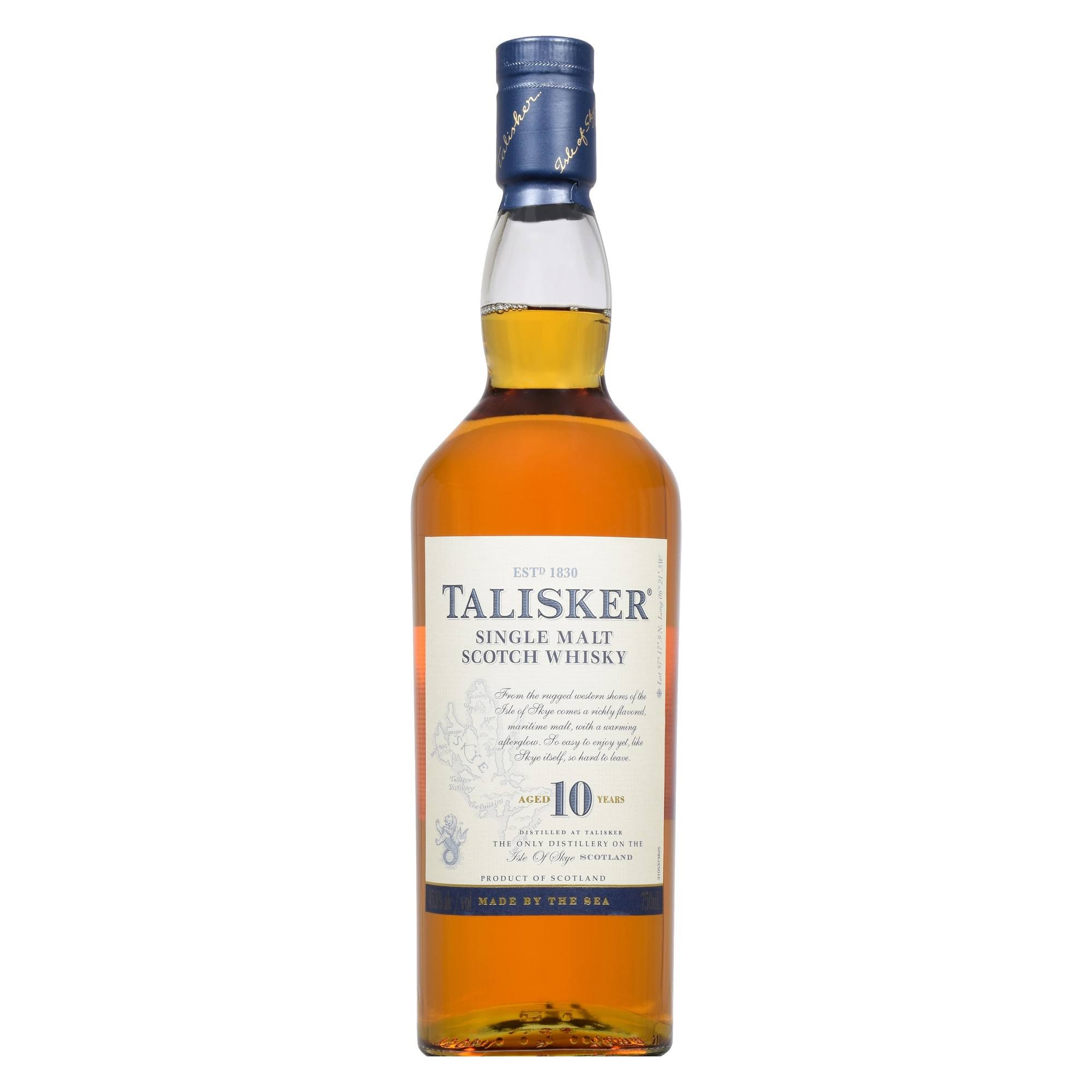 Talisker Whisky, Scotch, Single Malt - 750 ml