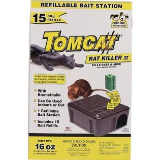 Tomcat Rat Killer II Refillable Bait