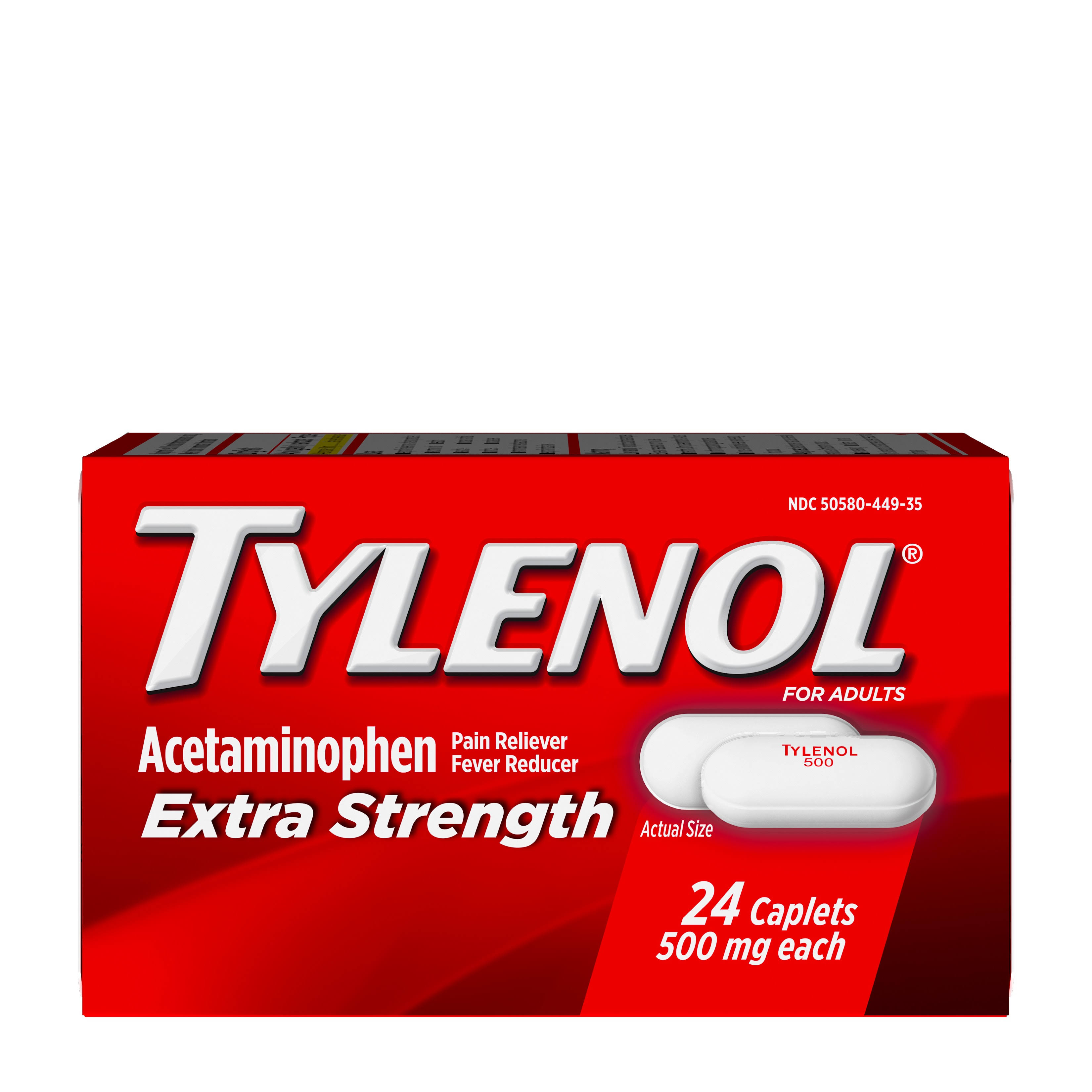 Tylenol - Extra Strength, 500mg, 24ct