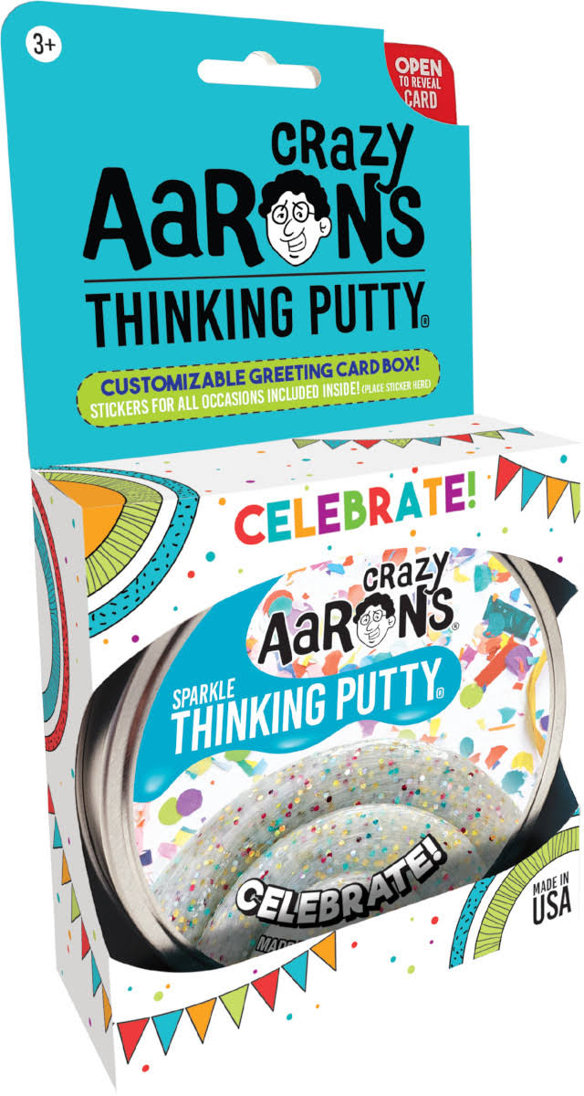 Crazy Aaron's Thinking Putty Celebrate