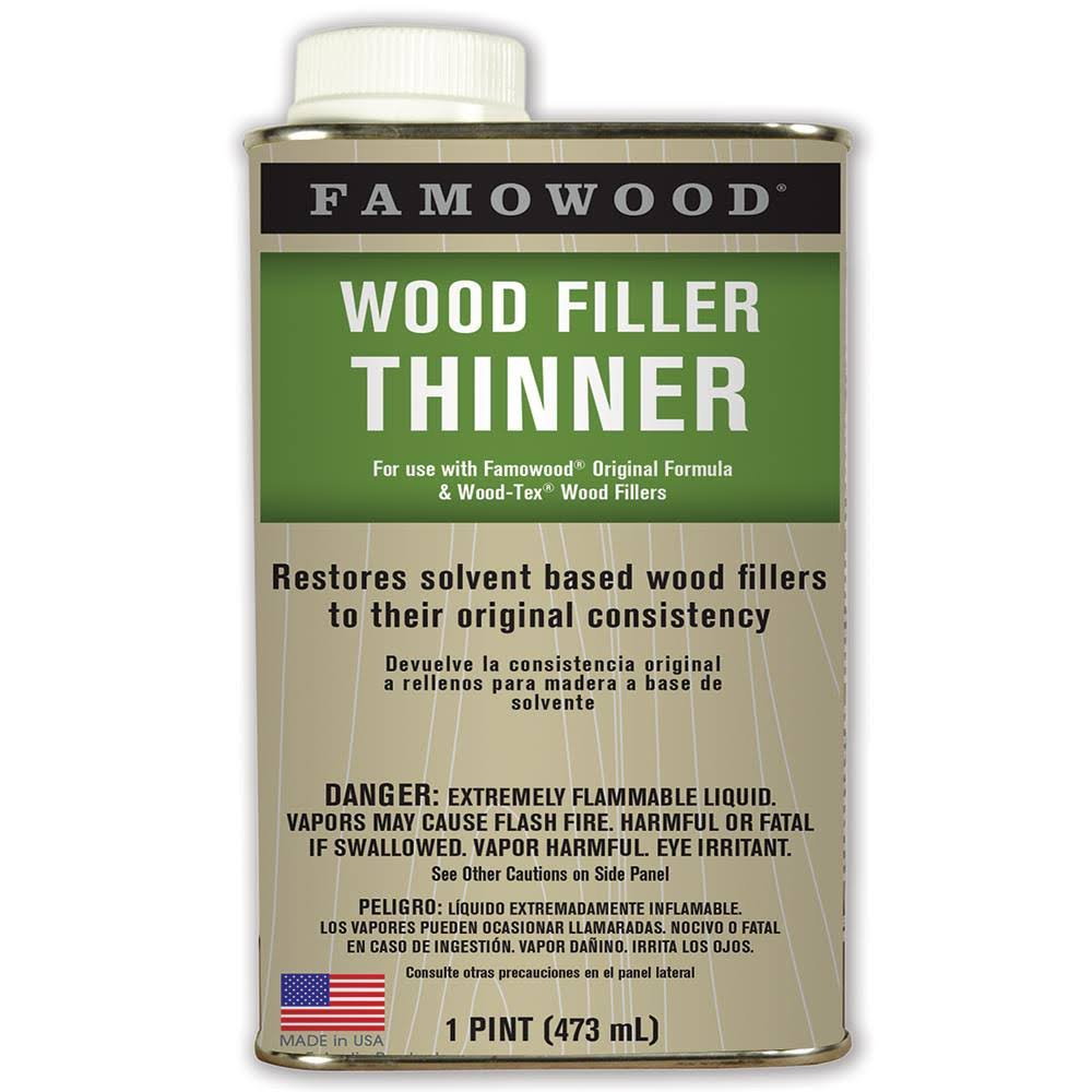 Famowood 730021 Wood Filler Thinner - 473ml