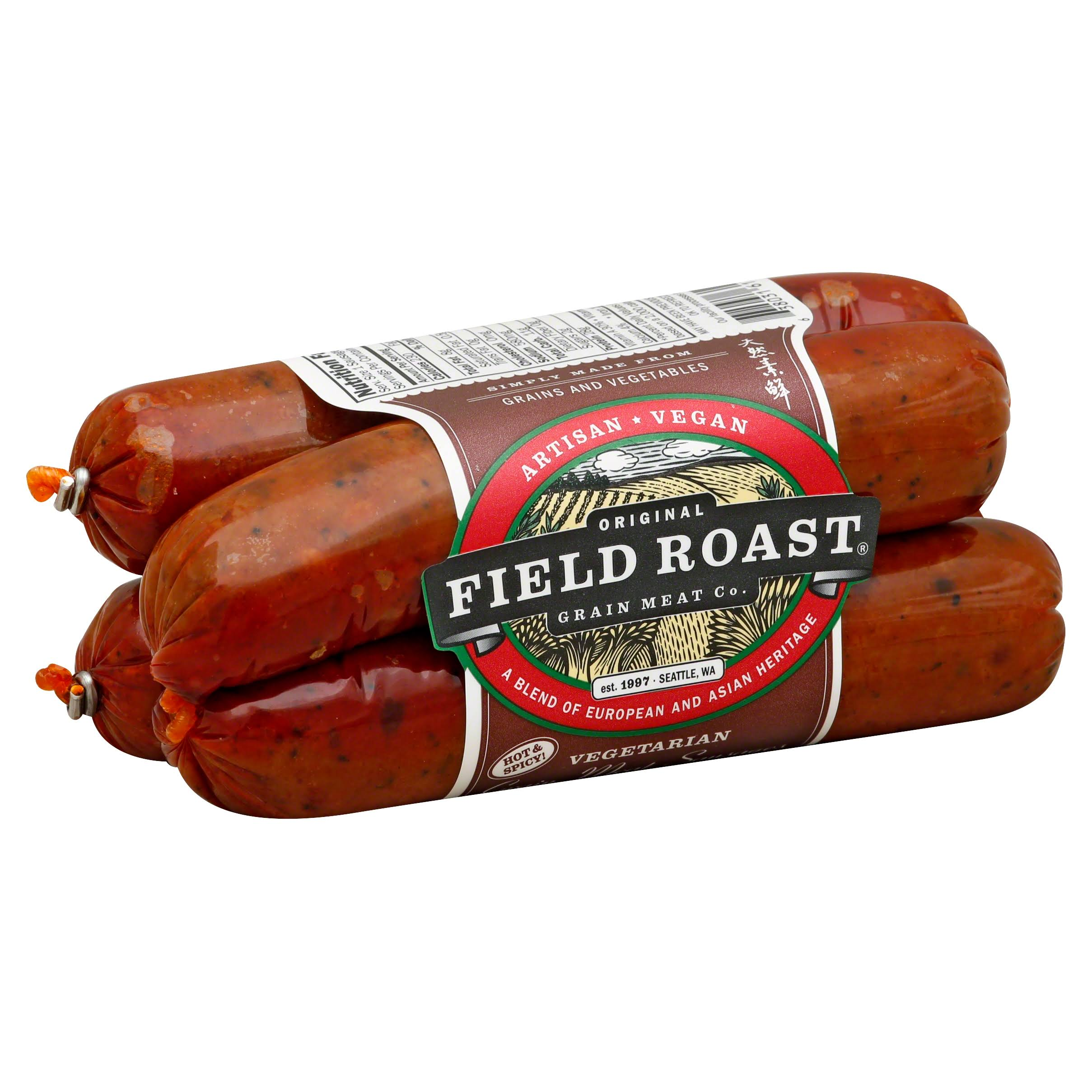 Field Roast Vegetarian Grain Meat Sausages - Mexican Chipotle, 12.95 oz