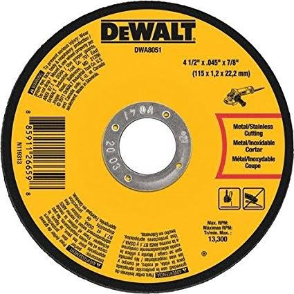 Dewalt DAW8051 Metal Stainless Cutting