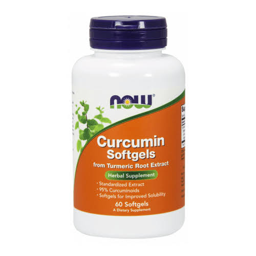 Now Curcumin 60 Softgels