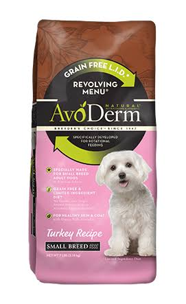 Avoderm Natural Revolving Menu Dog Food - Small Breed, Turkey, 4lbs