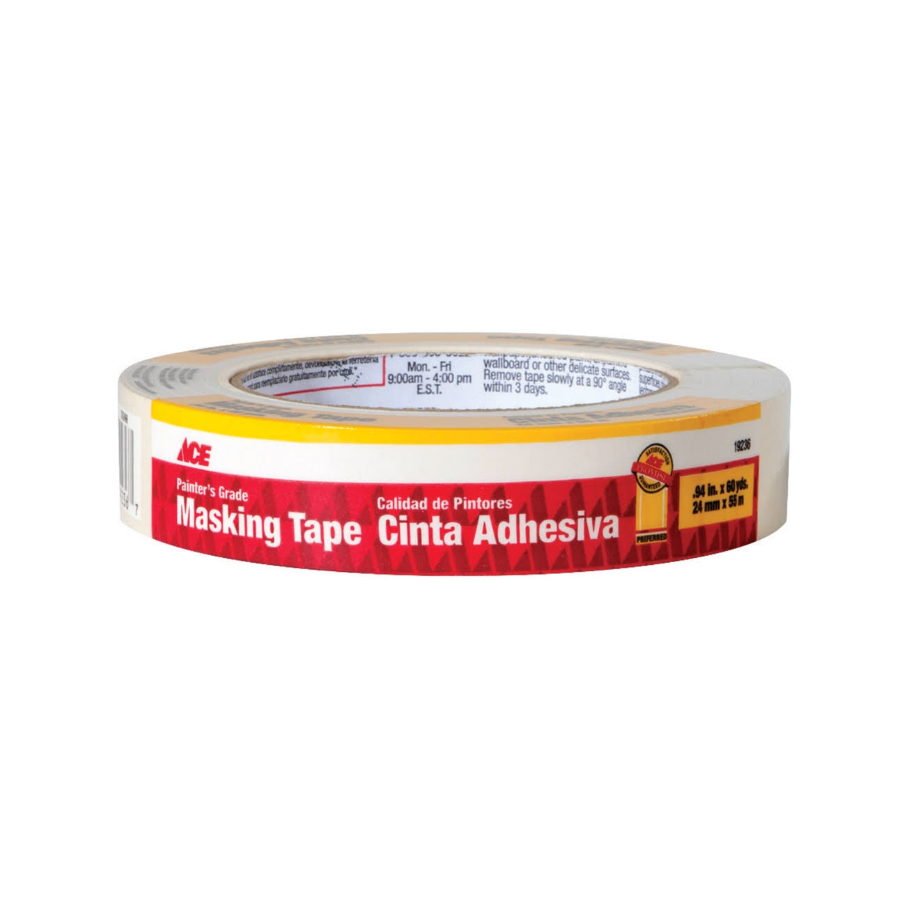 "Ace Professional Grade Masking Tape - 1.41""x60yds"