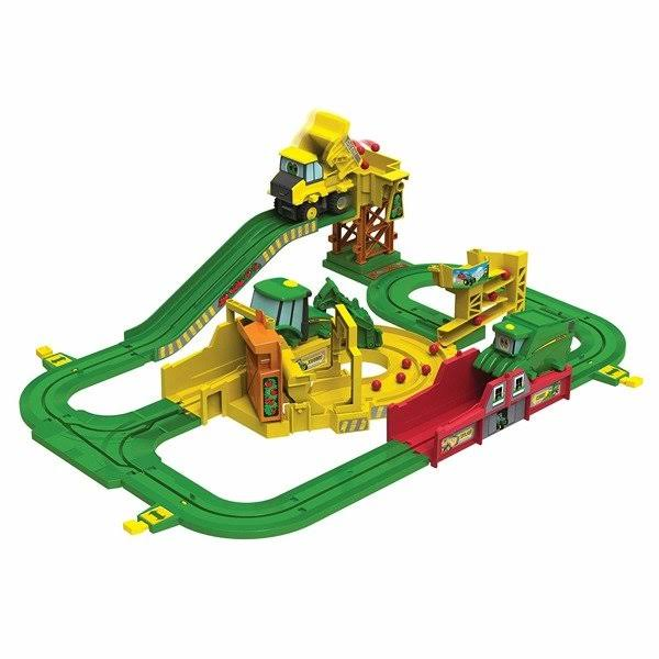 John Deere Johnny Tractor and The Magical Farm Big Loader Motorized Toy Train Set
