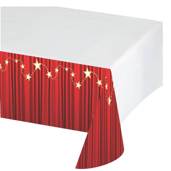 Creative Converting Hollywood Lights Plastic Table Cover