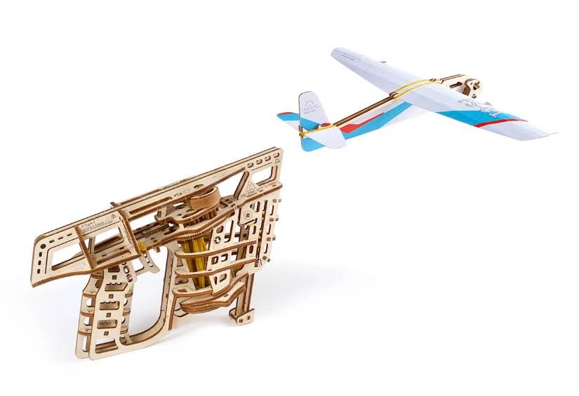 Ugears Mechanical Flight Starter Model Set