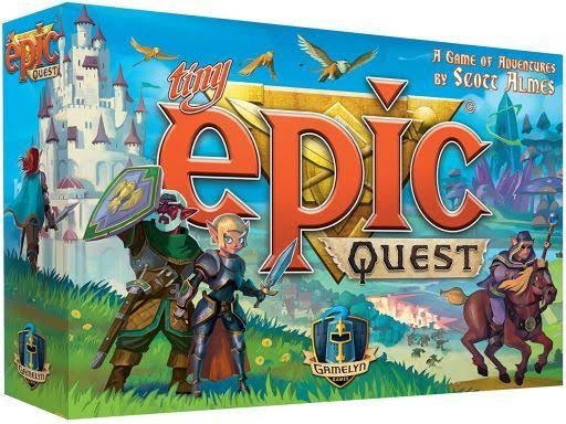 Tiny Epic Quest Fantasy Board Game