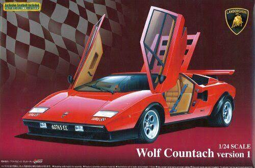 Aoshima 1/24 Wolf Countach Version 1 #049600