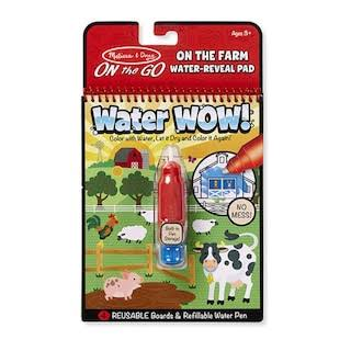 Melissa and Doug On the Go Water Wow On the Farm Water Reveal Pad