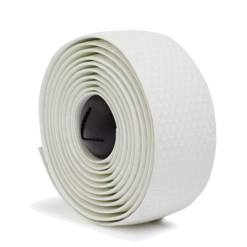 Fabric Silicone Bar Tape - White