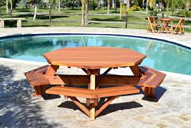 outdoor picnic table and bench set wooden picnic benches wooden