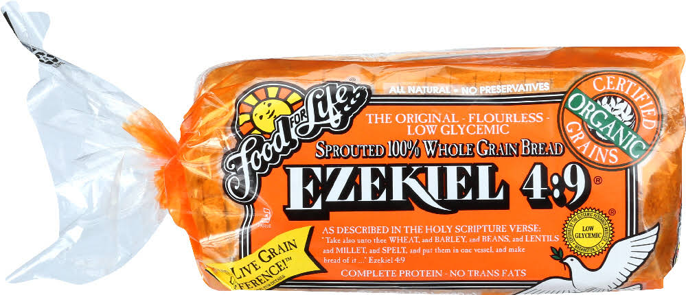 Food for Life Ezekiel 4:9 Bread