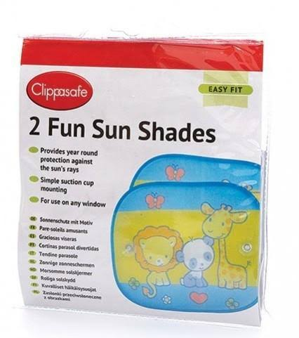 Clippasafe 2 Fun Sun Shades
