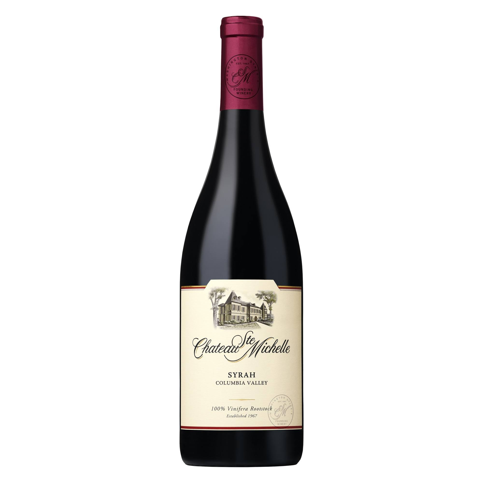Chateau Ste Michelle Syrah, Columbia Valley (Vintage Varies) - 750 ml bottle