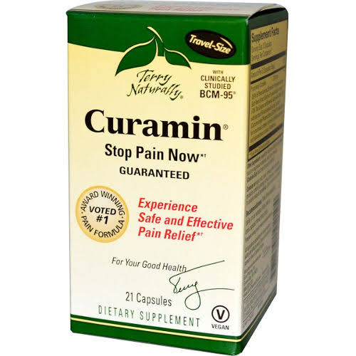Terry Naturally Curamin Dietary Supplement - 21 Capsules