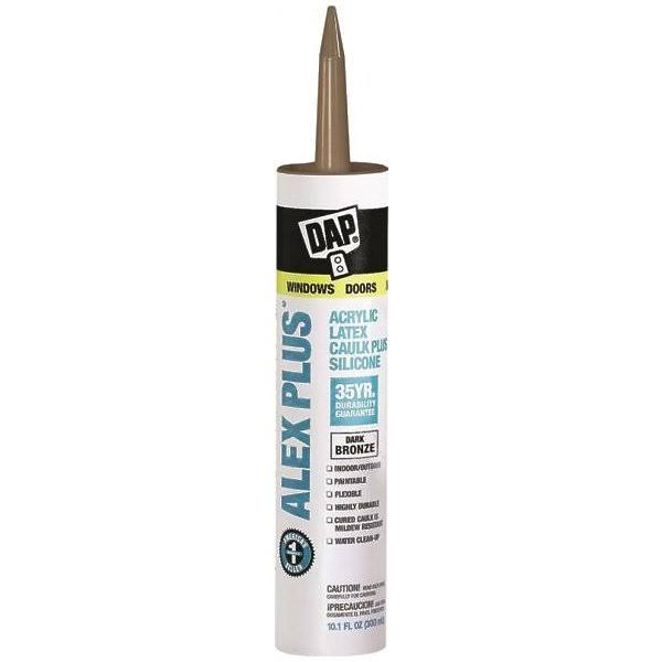 Da Acrylic Latex Caulk with Silicone - Dark Bronze