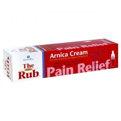 NatraBio The Arnica Rub Pain Relief