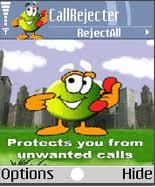 برنامج لرفض المكالمات المزعجة والمزعجين