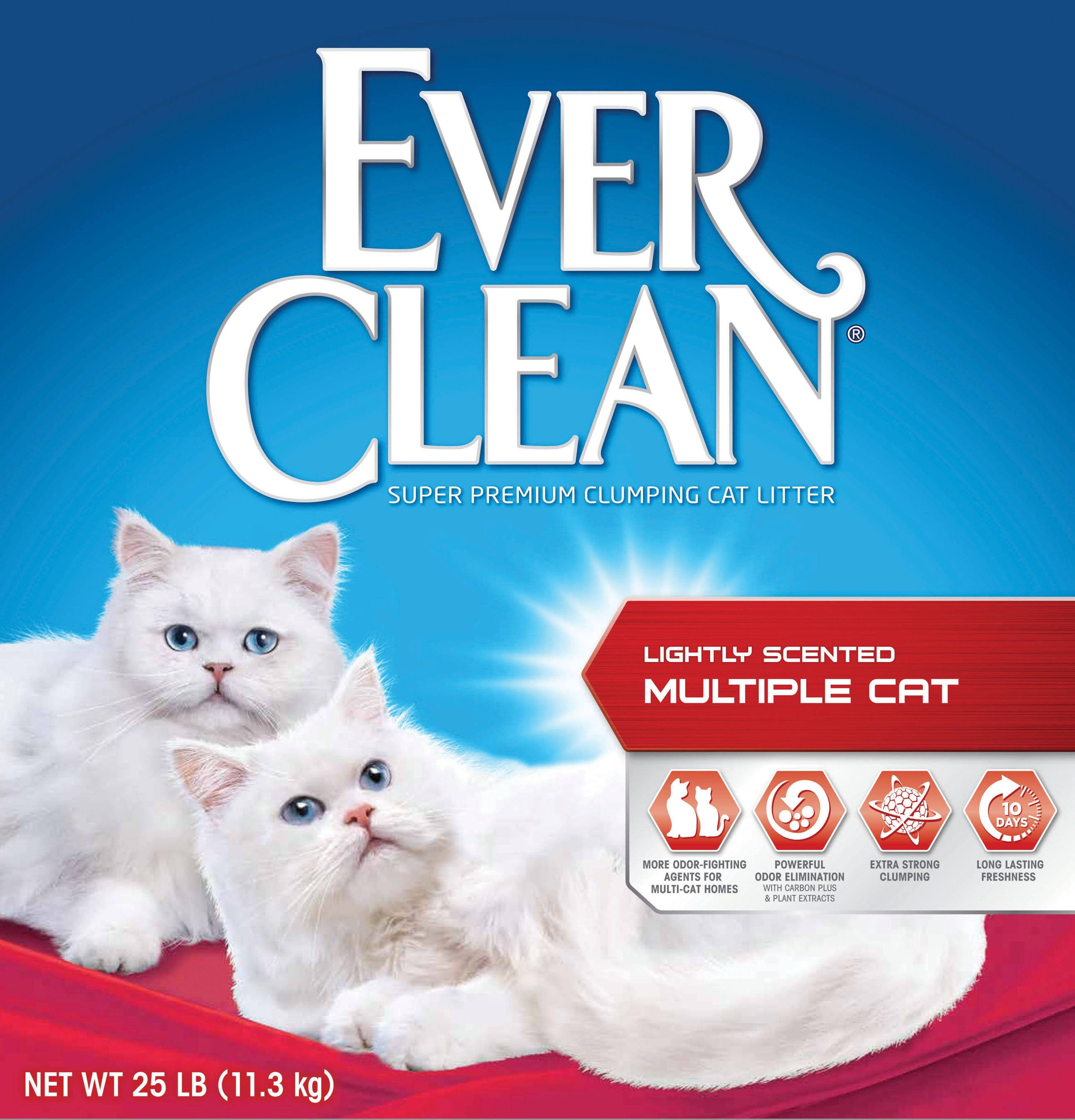 Clorox Company Ever Clean Multiple Cat Litter - 25lb