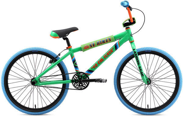 SE Bikes 2020 So Cal Flyer 24 inch BMX Bike Green