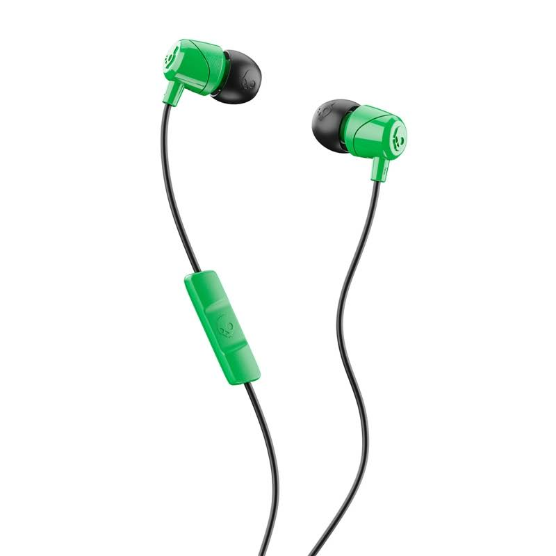Skullcandy S2DUY-L102 Jib In-Ear Earbuds - with Microphone, Green