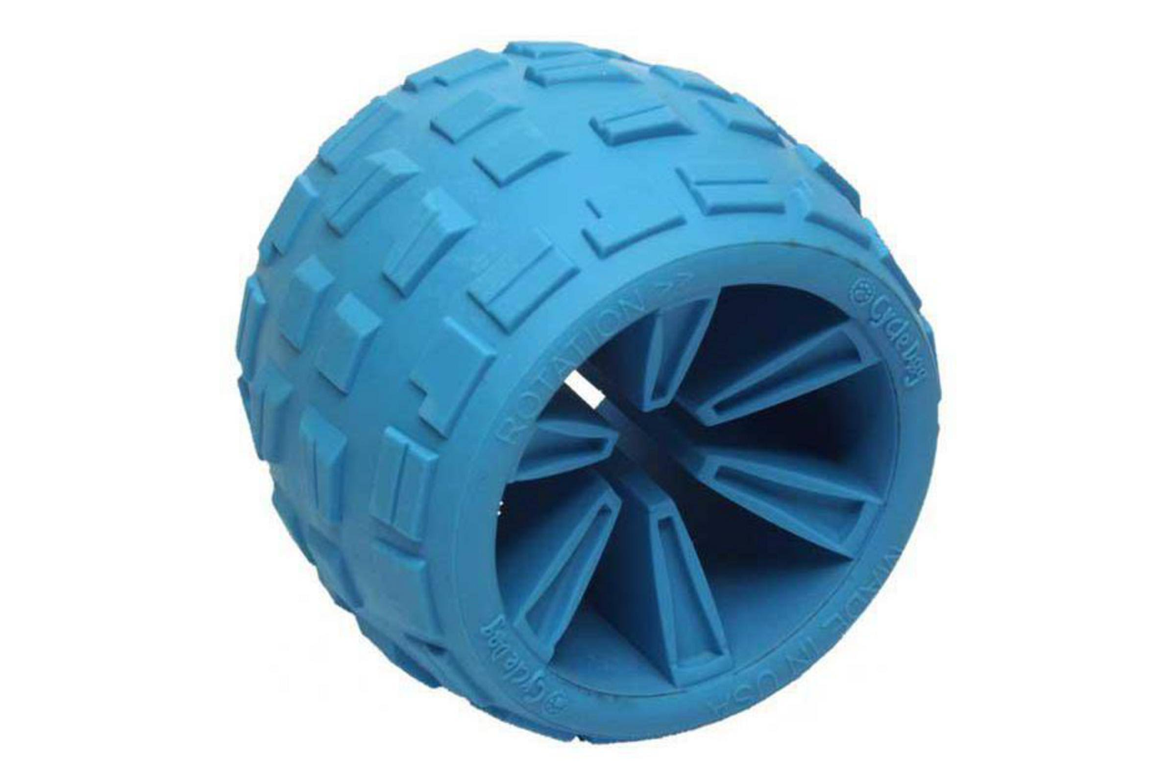 Cycle Dog High Roller Plus Dog Toy Blue Large