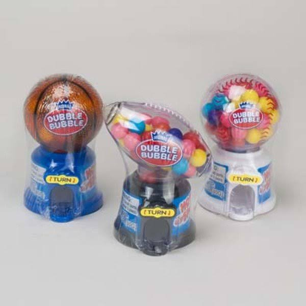 Dubble Bubble Hot Sport Gum Dispenser - 12 Count