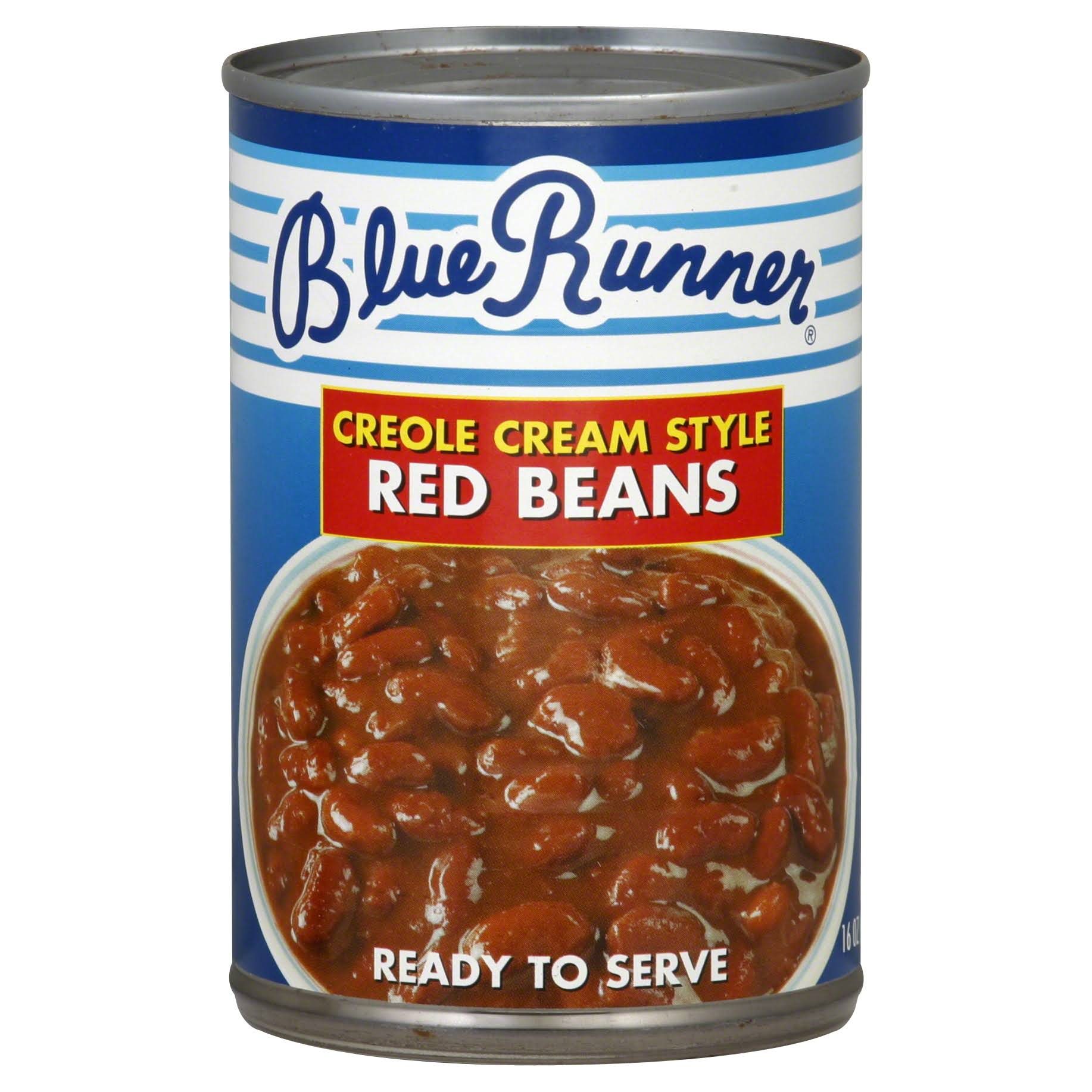 Blue Runner Creole Cream Style Red Beans - 16 oz