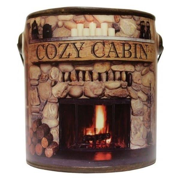 A Cheerful Giver Cozy Cabin Fresh Farm Collection Candle, 20 oz