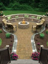 patio before and after porch simple fire pit patios build your