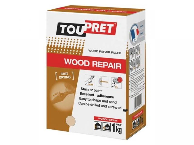 Toupret Wood Repair Filler - 1kg