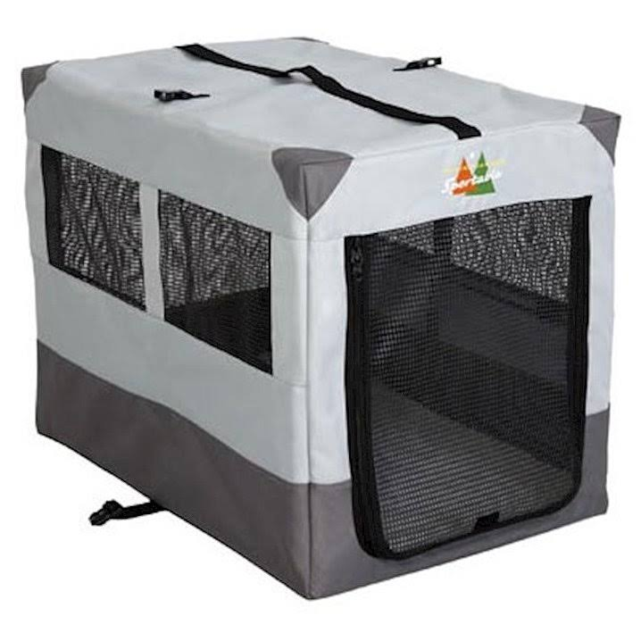 Midwest Portable Tent Crate - Gray