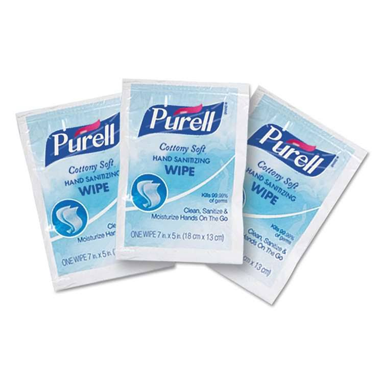 Purell Cottony Soft Sanitizing Wipes - 1000ct, White