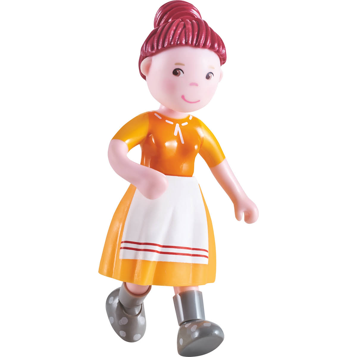 "Haba Little Friends Farmer Johanna- 4.5"" Bendy Doll Adult Figure"