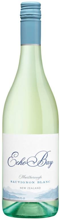 Echo Bay Sauvignon Blanc 2017 White Wine from New Zealand - 750ml