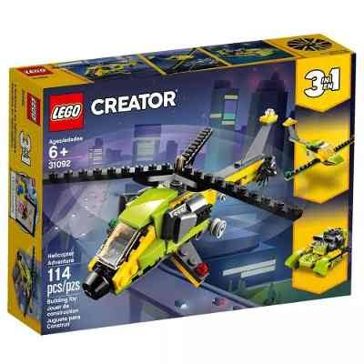 Lego Creator Building Toy, Helicopter Adventure