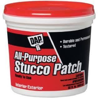 DAP All-Purpose Stucco Patch - White, 948ml