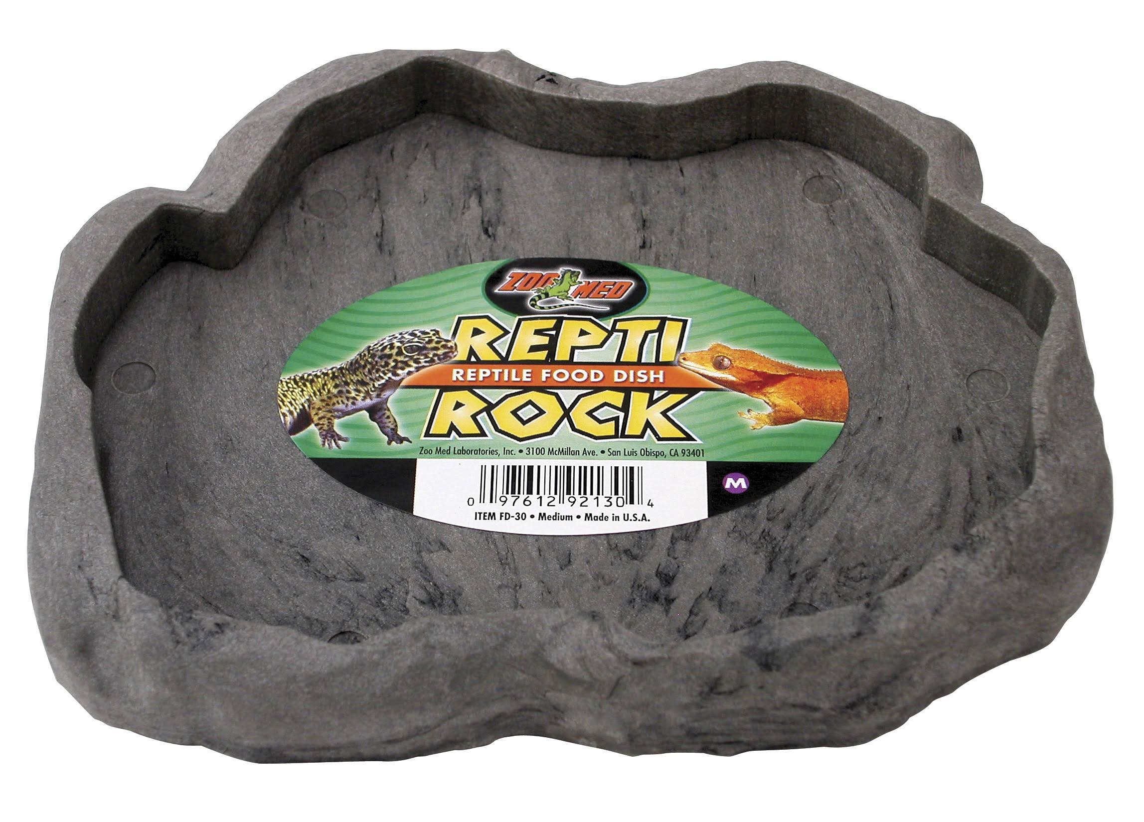 Repti - Rock Reptile Food Dish - Medium