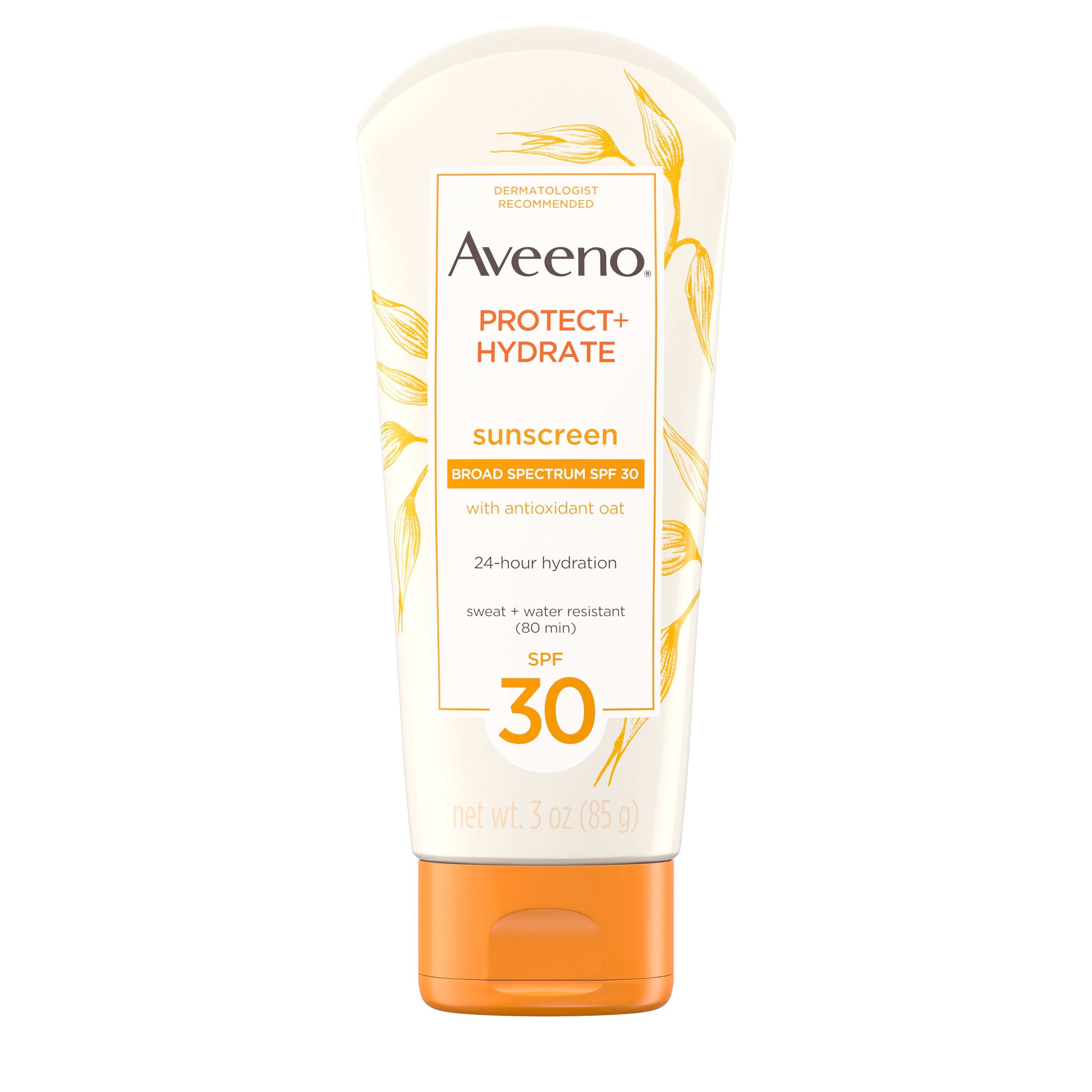 Aveeno Active Naturals Protect Hydrate Sunscreen Lotion - SPF 30, 3oz