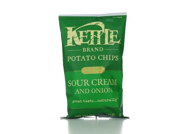 Kettles Potato Chips - 241g, Sour Cream And Onion