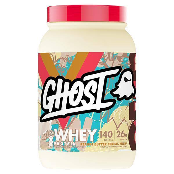 Ghost 100 Percent Whey Protein Cereal - Peanut Butter, 924g