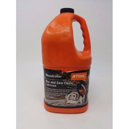 Stihl One Gallon Platinum Bar and Saw Chain Lubricant.